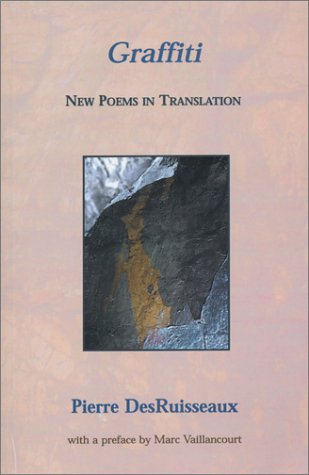 9780919688650: Graffiti: New Poems in Translation