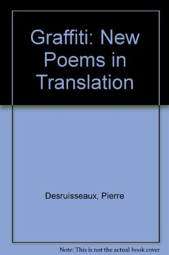 9780919688674: Graffiti: New Poems in Translation