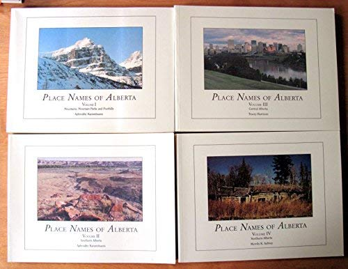 Place Names of Alberta. 4 Volumes. Volume: Karamitsanis, Aphrodite