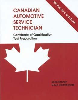 9780919852617: Canadian Automotive Service Technician: Certificate of Qualification Test Preparation -