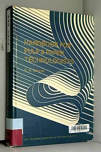 9780919893009: Handbook for Pulp & Paper Technologists