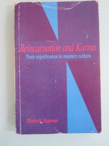 9780919924062: Reincarnation and Karma: Their Significance in Modern Culture