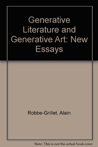 9780919966307: Generative Literature and Generative Art: New Essays