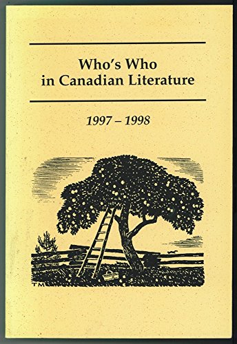 Who's Who in Canadian Literature 1997- 1998