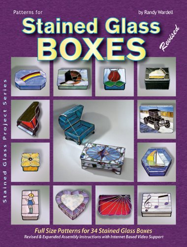 9780919985018: Patterns for Stained Glass Boxes: 34 Full-size Patterns - Step-by-step Assembly Instructions