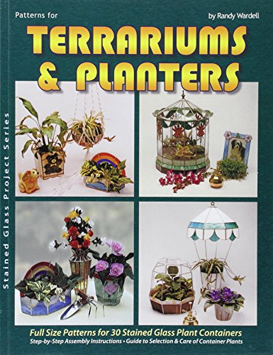 9780919985025: Terrariums and Planters - 30 Stained Glass Projects