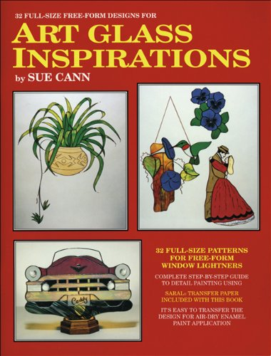 9780919985209: Art Glass Inspirations: Patterns for Free-form Stained Glass Projects