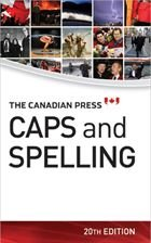 9780920009482: The Canadian Press Caps and Spelling