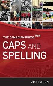 9780920009529: The Canadian Press Caps and Spelling