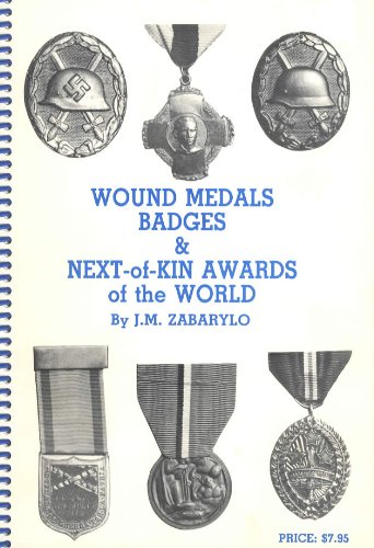 9780920030271: Wound medals, badges & next-of-kin awards of the world