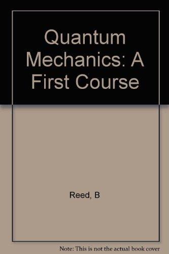 9780920063330: Quantam Mechanics: A 1st Course