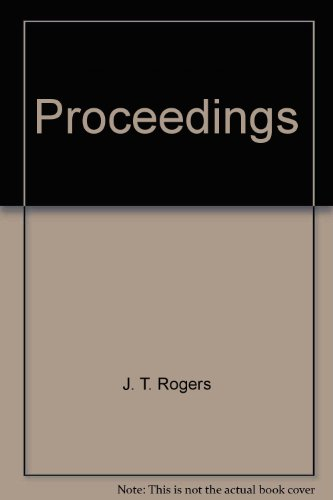 Proceedings: J. T. Rogers