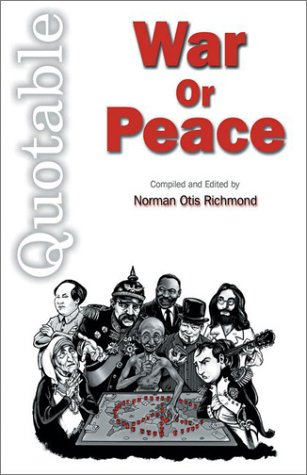 Quotable War or Peace: Geoff Savage