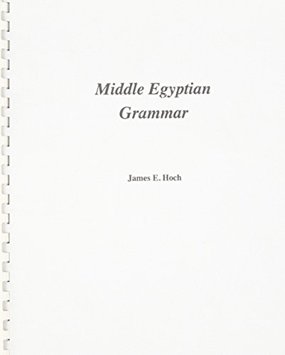 9780920168127: Middle Egyptian Grammar