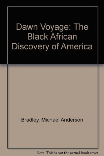 9780920197370: Dawn Voyage: The Black African Discovery of America