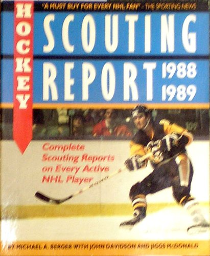 9780920197561: The 1988-89 Hockey Scouting Report