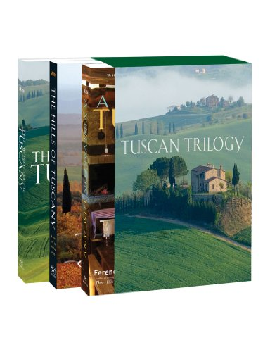 The Tuscan Trilogy: The Hills of Tuscany / A Vineyard in Tuscany / The Wisdom of Tuscany (Three-book slipcased edition) (0920256783) by Máté, Ferenc