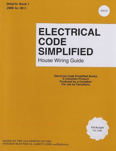 9780920312414 electrical code simplified ontario book 1 house rh abebooks com Wiring Simplified 43rd Edition Basic Headlight Wiring Diagram