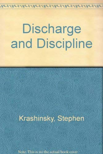 Discharge and Discipline: Stephen Krashinsky, Jeffrey Sack
