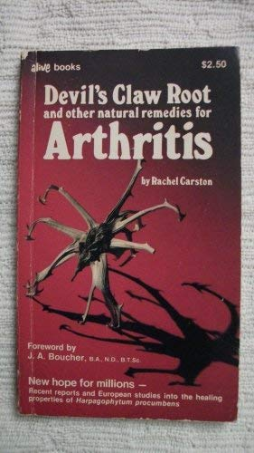 DEVIL'S CLAW ROOT: And Other Natural Remedies for ARTHRITIS