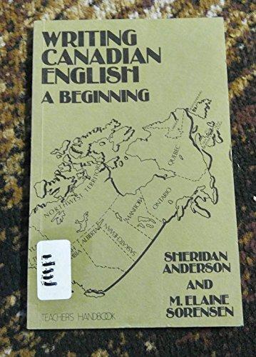 9780920490211: Writing Canadian English: Beginning Handbook