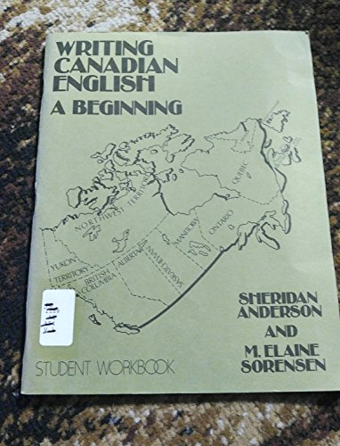 9780920490228: Writing Canadian English: Beginning Workbook