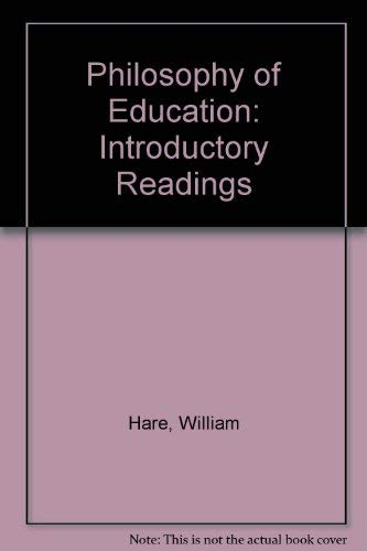 9780920490846: Philosophy of Education: Introductory Readings