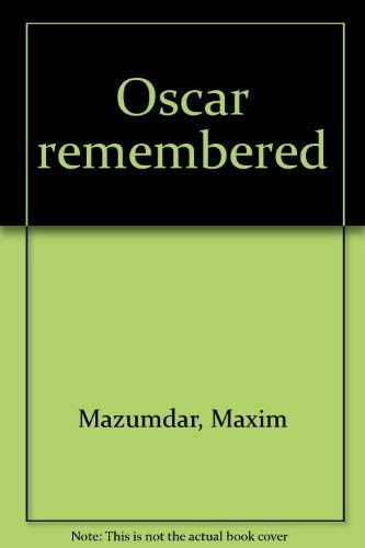Oscar remembered [Jan 01, 1977] Mazumdar, Maxim