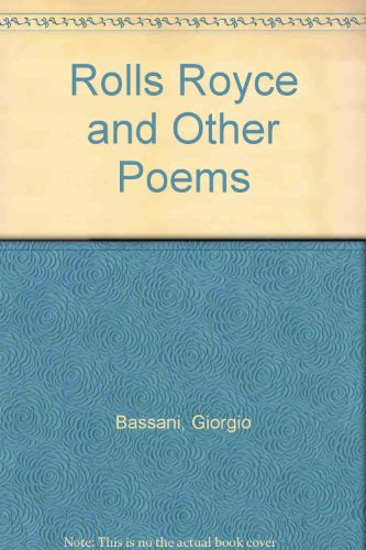 9780920544365: Rolls Royce and Other Poems