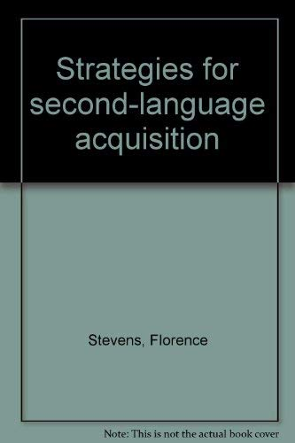 Strategies for Second Language Acquisition