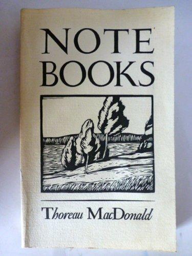 Notebooks: MacDonald, Thoreau
