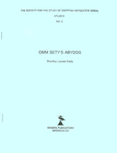 9780920808092: Omm Sety's Abydos (The Society for the Study of Egyptian Antiquities (Ssea) Studies)