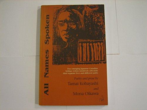 All names spoken; poetry and prose: Kobayashi, Tamai and Mona Oikawa