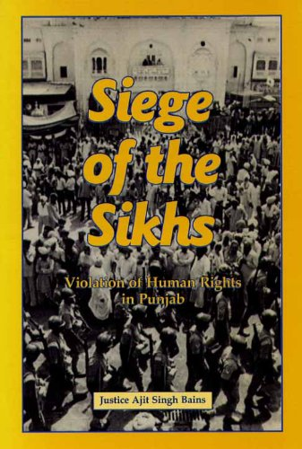 9780921032069: Siege of the Sikhs : Violation of Human Rights in Punjab