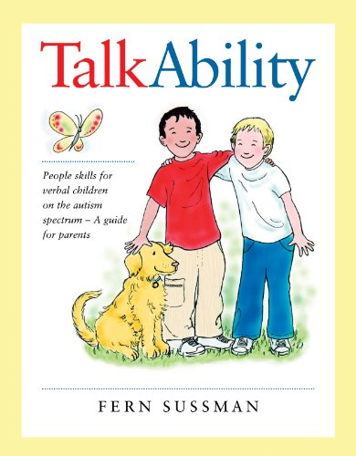9780921145325: TalkAbility: People Skills for Verbal Children on the Autism Spectrum - A Guide for Parents