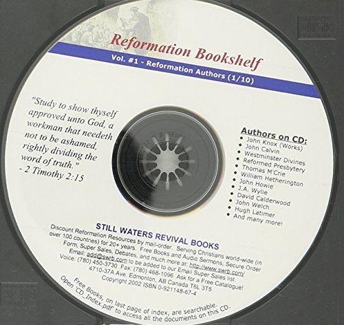 9780921148678: Reformation Bookshelf CD (Volume 1 of 30) The Works of John Knox (6 Volumes) and Various Other Books About John Knox and the History and Theology of ... Reformations, Reformation Authors (1/10)