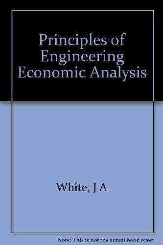 9780921332305: Principles of Engineering Economic Analysis