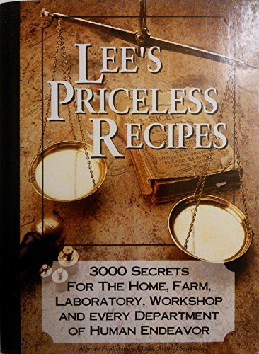 Lee's Priceless Recipes: N. T. Oliver
