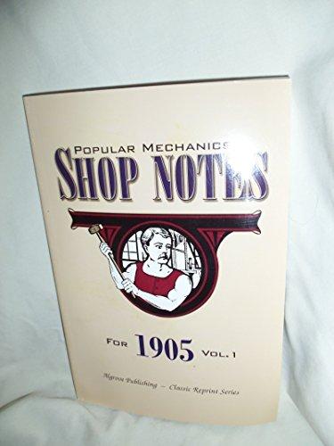 9780921335740: Popular Mechanics Shop Notes for 1905 (Volume 11)