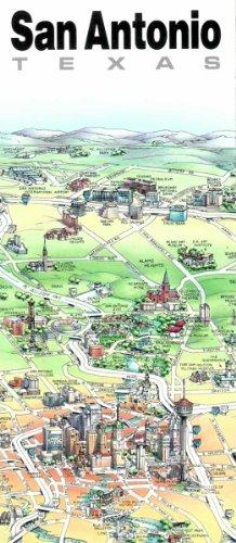 9780921338253: Unique Media Map: San Antonio/Folded