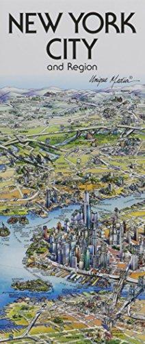 9780921338307: Unique Media Map : New York City/Folded