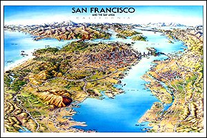 Unique Media Map: San Francisco/Folded: Incorporated, Unique Media