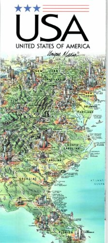 9780921338505: Unique Media Map: United States/Folded