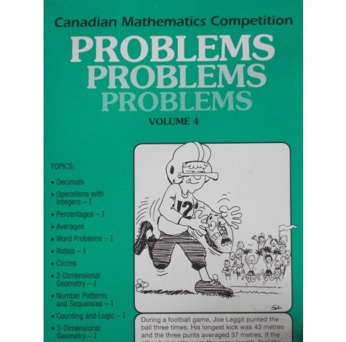 9780921418047: Canadian Mathematics Competition Vol. 4