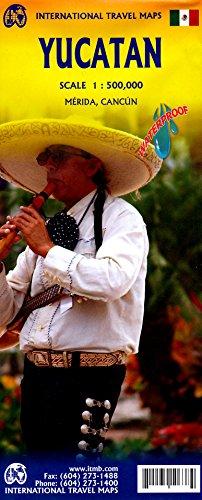 9780921463153: P�ninsule Yucatan. 1/190 000