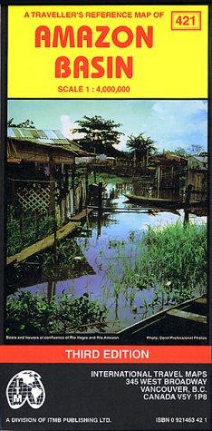9780921463429: Amazone Basin. 1/4 000 000 (Cartes touristiques)