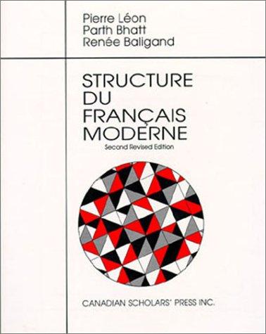 9780921627951: Structure Du Francais Moderne