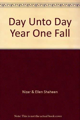 Day Unto Day Year One Fall: Nizar & Ellen