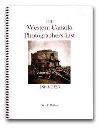 9780921818168: The western Canada photographers list (1860-1925)