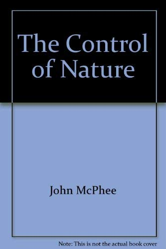 9780921912804: The Control of Nature